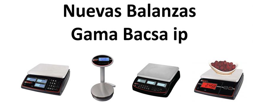 Nueva gama balanzas BACSA IP 2017