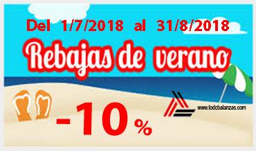 Oferta de verano 2018 – 10% descuento