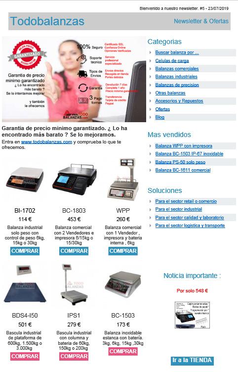 www.todobalanzas.com Newsletter 5