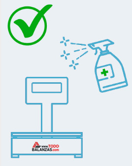 Basculas y balanzas higienizables en www.todobalanzas.com